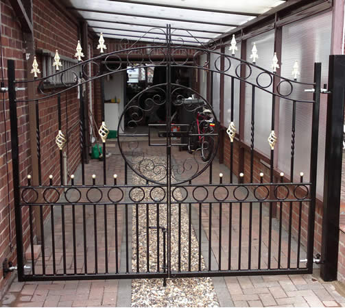 Welded Iron Gate
