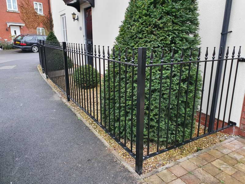 Welded Iron Gates and Railings by Comptong Welding, Swindon